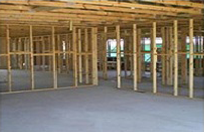 house frame during construction 1