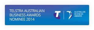 Telstra Australian Business Awards Nominee 2014